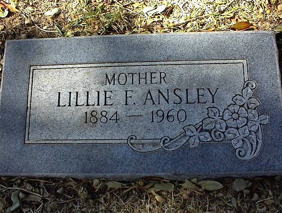 Lillie Franklin <i>Chambers</i> Ansley
