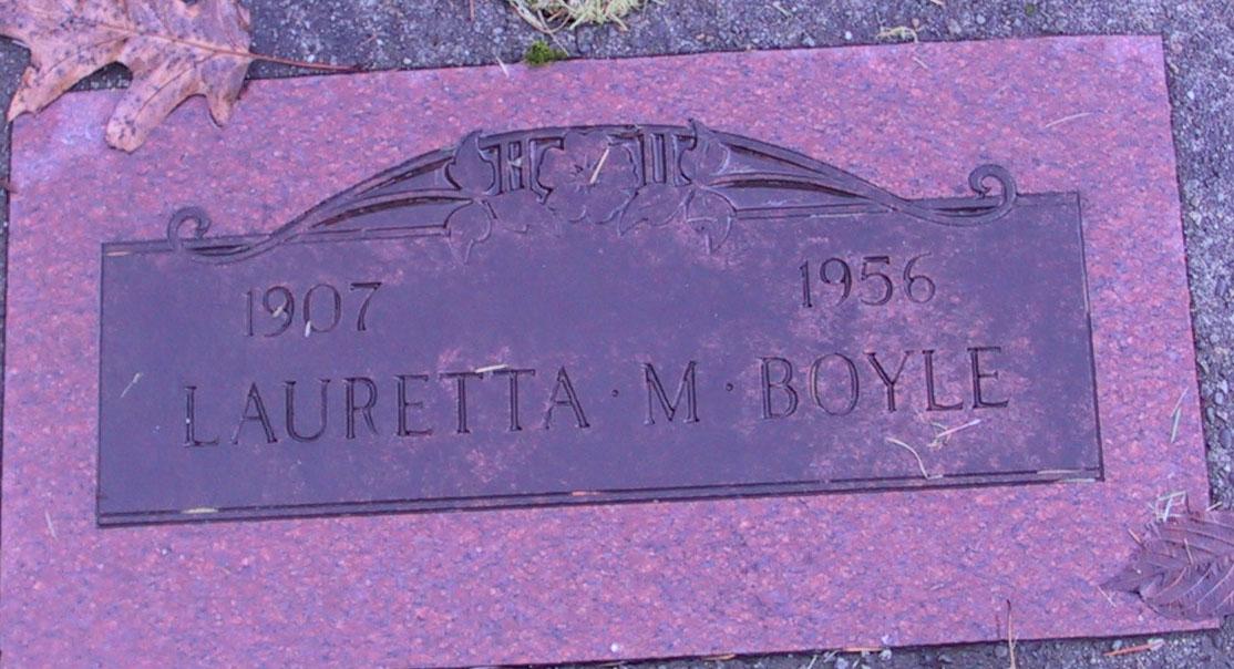 Lauretta M <i>Rideout</i> Boyle