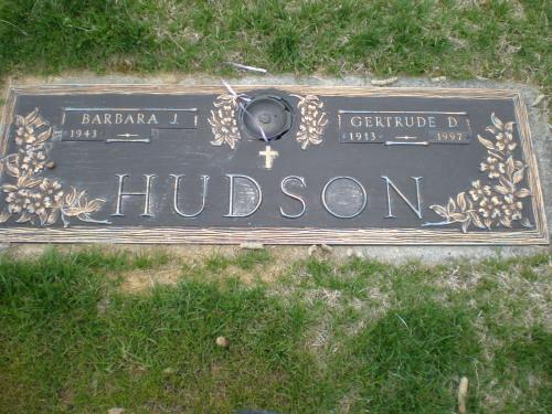Gertrude <i>Debruyn</i> Hudson