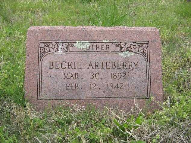 Rebecca Beckie <i>Needham</i> Arteberry