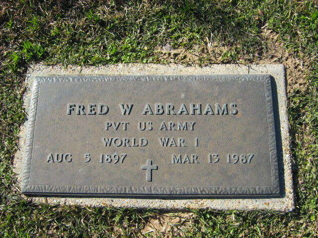Fred William Abrahams