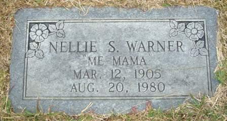 Nellie <i>Smitherman</i> Warner