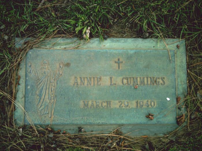 Annie M Cummings