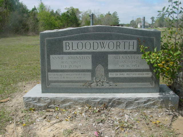Alexander Medford Bloodworth