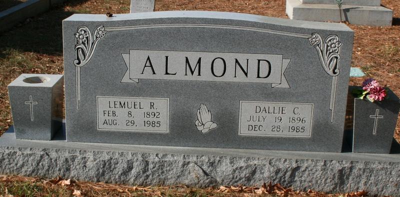 Dallie Abigail <i>Cauble</i> Almond