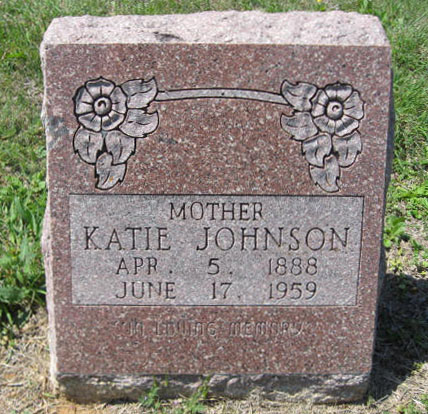 Rozella Catherine Katie <i>Martin</i> Johnson