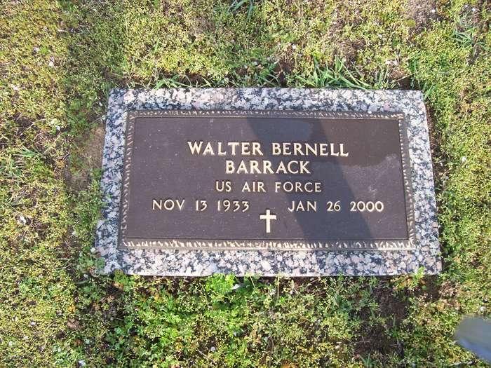 Walter Bernell Sonny Barrack