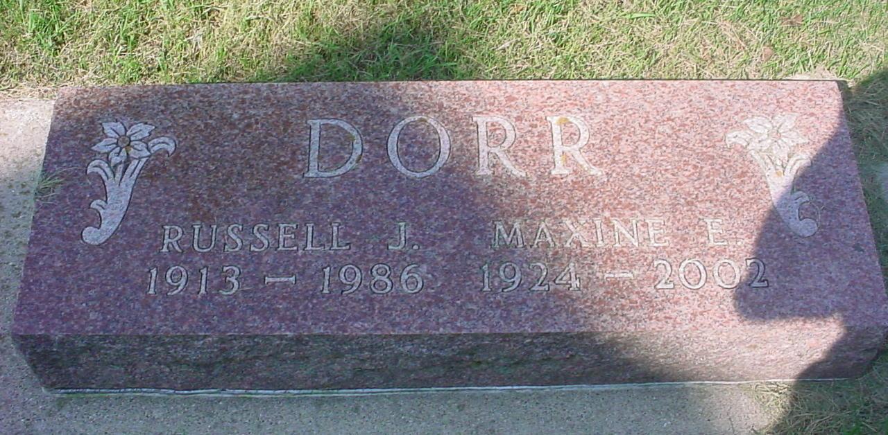 Maxine Elizabeth <i>Link</i> Dorr