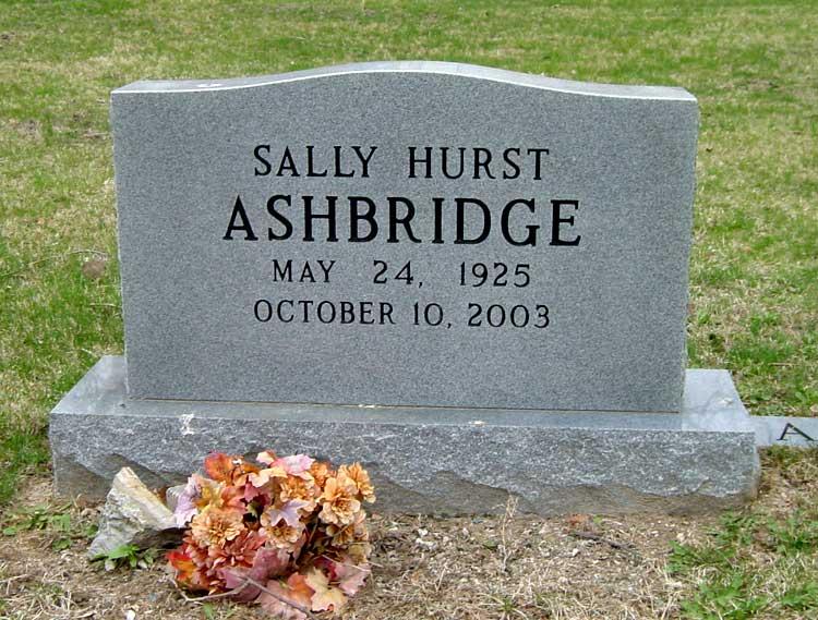 Sally Hurst Ashbridge