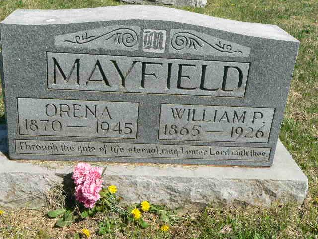 William P Mayfield