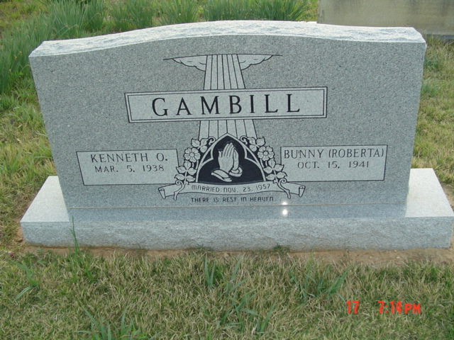Roberta Faye Bunny <i>Miller</i> Gambill