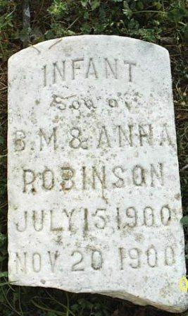 Infant Son Robinson