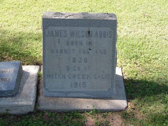 James Wilson Abbis