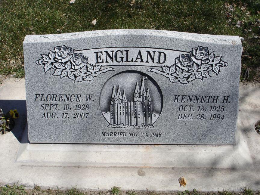 Florence Yvonne Bonnie <i>Worthen</i> England