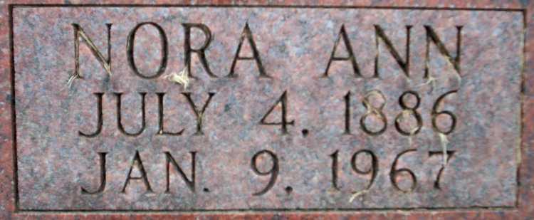 Nora Ann <i>Purnell</i> Churchill