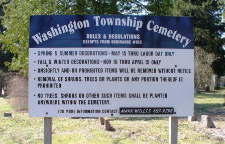 Washington Township Cemetery
