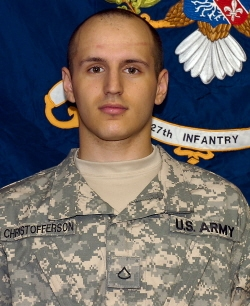 Sgt Steven John Christofferson