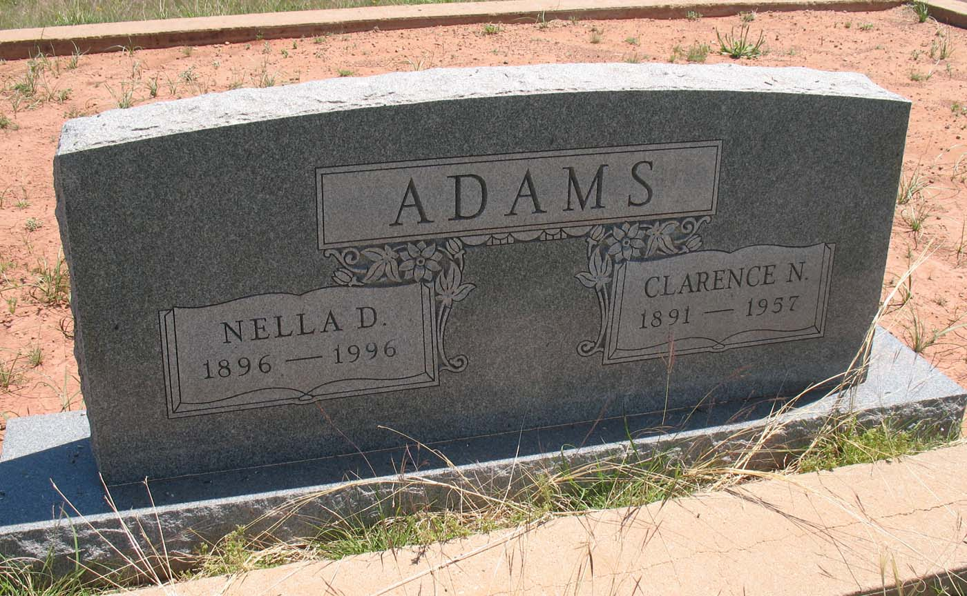 Nella <i>Daniels</i> Adams