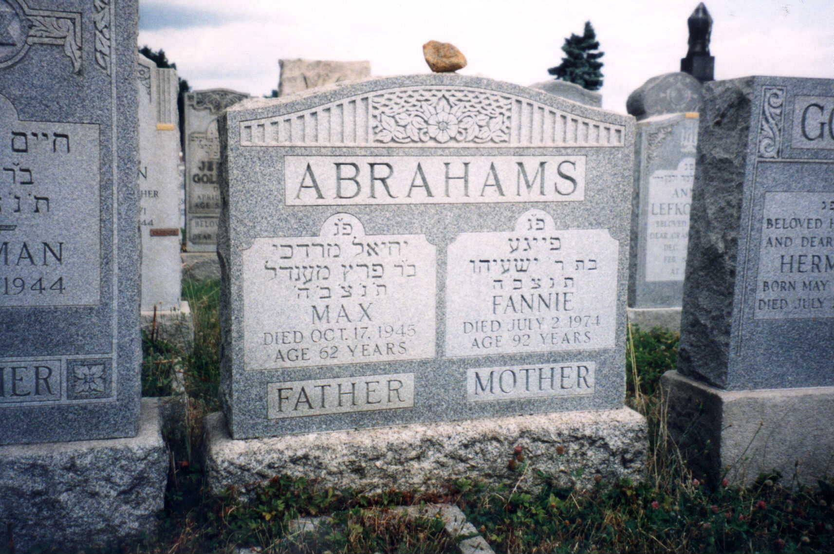 Max Abrahams