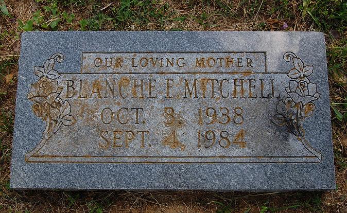 Blanche <i>Hickman</i> Mitchell