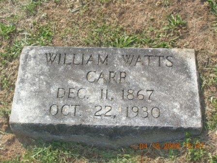 William Watts Carr