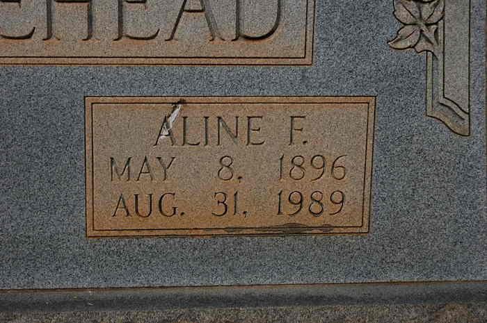 Aline C <i>Forrester</i> Whitehead