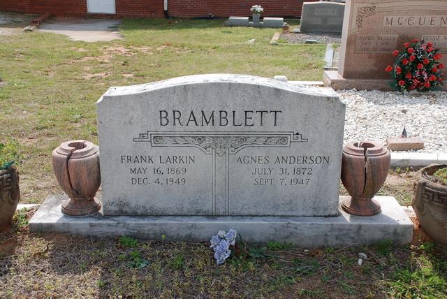 Agnes Amelia <i>Anderson</i> Bramblett