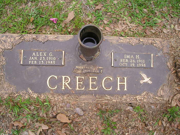 Ima Helen <i>Balla</i> Creech