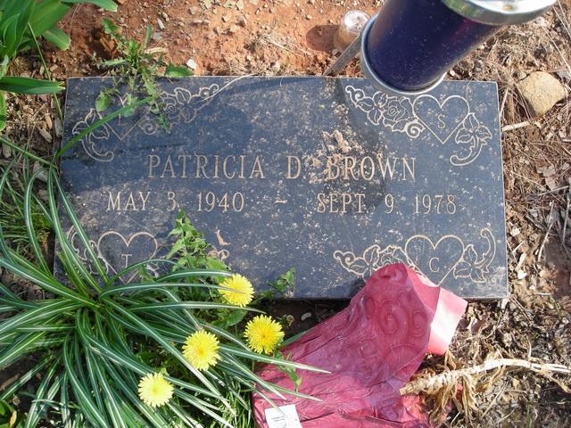 Patricia D Brown