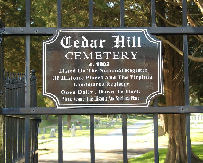 Cedar Hill Cemetery