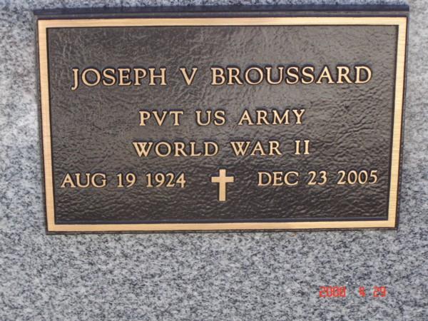 Joseph V. Broussard