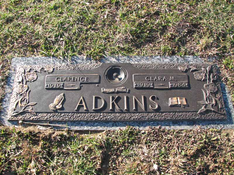 Rev Clarence Adkins