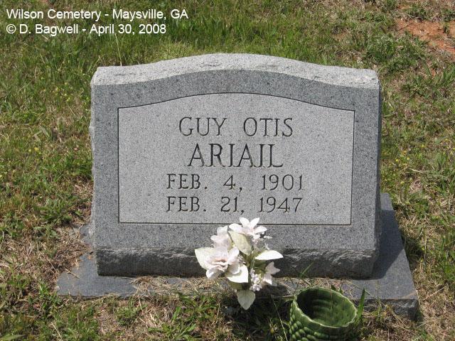 Guy Otis Ariail