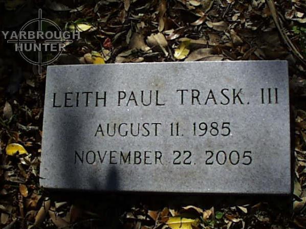 Leith Paul Trask, III