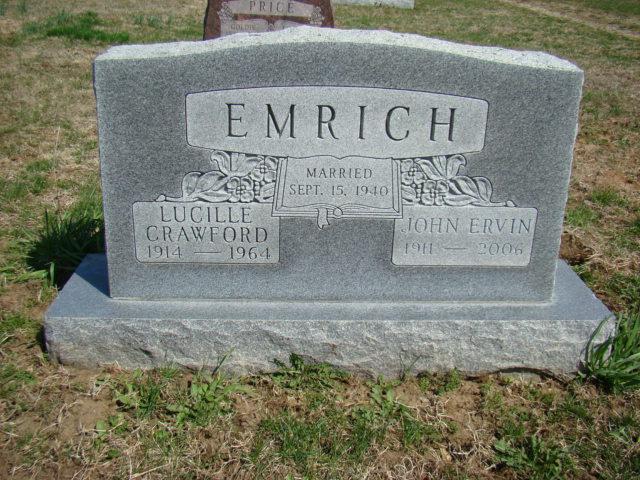John Ervin Ervin Emrich
