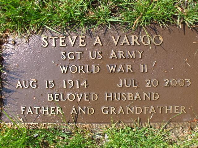 Stephen Anthony Steve Vargo
