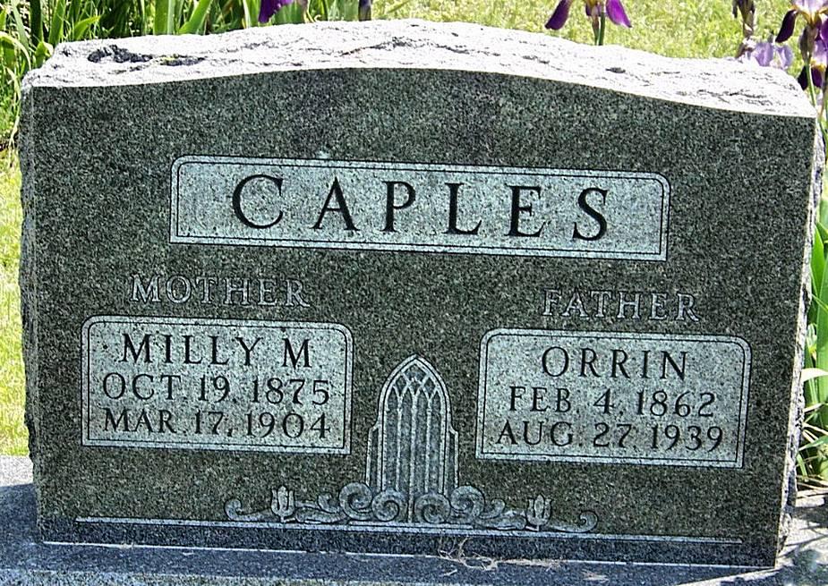 Milly Melissa <i>Gray</i> Caples