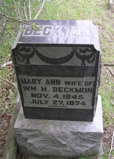 Mary Ann <i>Bean</i> Beckmon