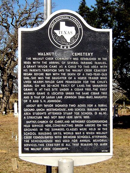 Walnut Cemetery