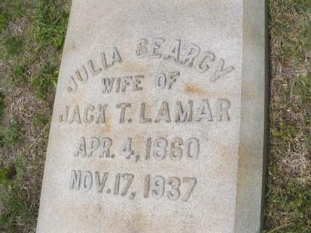 Julia Frances <i>Searcy</i> Lamar