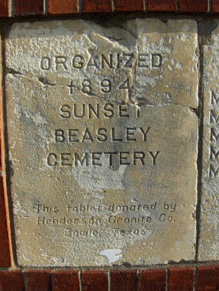 Sunset Beasley Cemetery