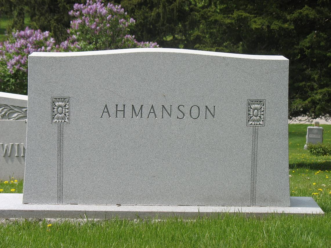 Aimee <i>Talbod</i> Ahmanson