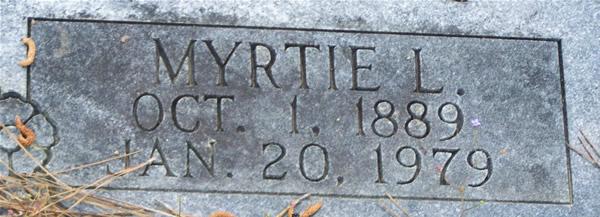 Myrtie L. Cain