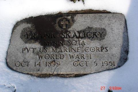 Pvt Frank Skalicky