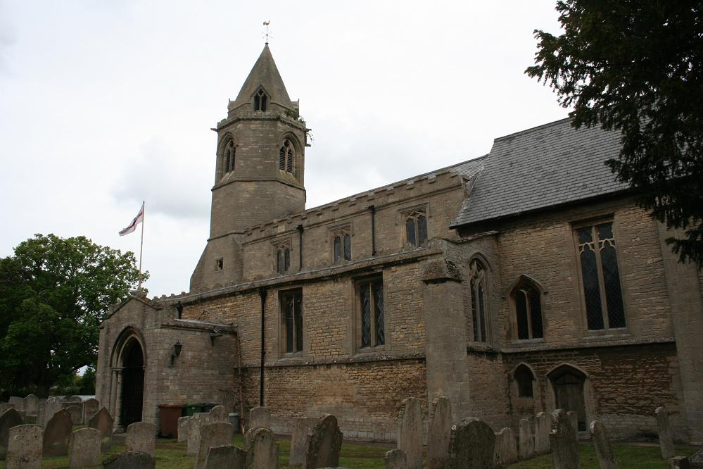 St Botolph Helpston Churchyard