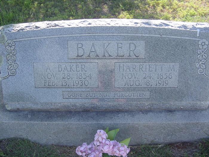 Harriett Amanda Mandy <i>Ford</i> Baker