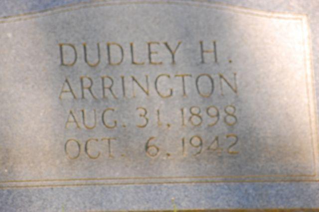 Dudley H Arrington