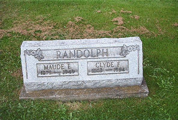 Maude E. <i>Rossell</i> Randolph