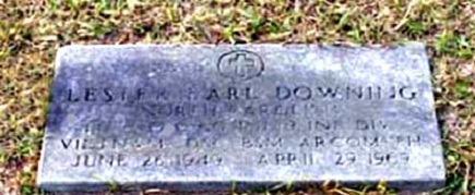 PFC Lester Earl Pee-Dee Downing