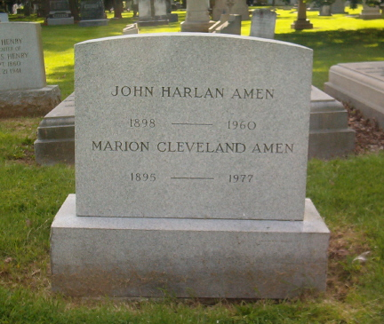 Marion <i>Cleveland</i> Amen